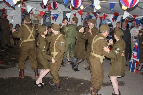 Cutting a rug on VE Day 70th anniversary May 2015