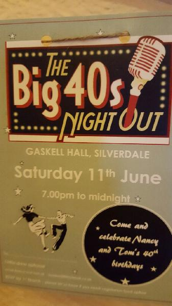 bithday party Silverdale Carnforth Station Big Band