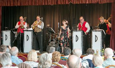 John Barber, Andy Scott, Mike Lovatt, Matt Ford, Claire Teal, Vintage Dance Orchestra