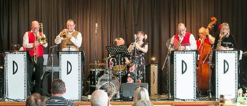 Full Band with Sarah 'Goodman' on Clarinet