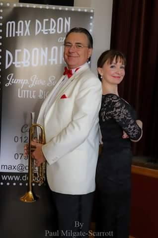promotional video Max Debon & the Debonaires. undiscovered brass.co.uk. Mark Leigh, Princess Dianna. Frank Sinatra. Tommy Dorsey. I